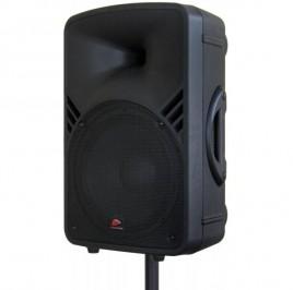 Enceinte professionnelle portable 250 W munie d'un lecteur MP3