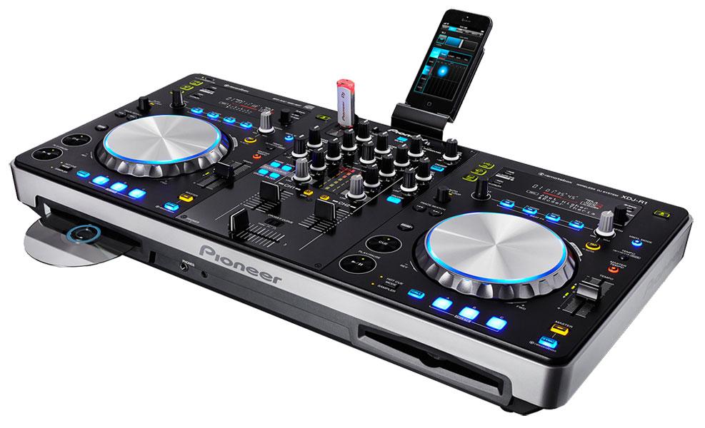 table de mixage cd
